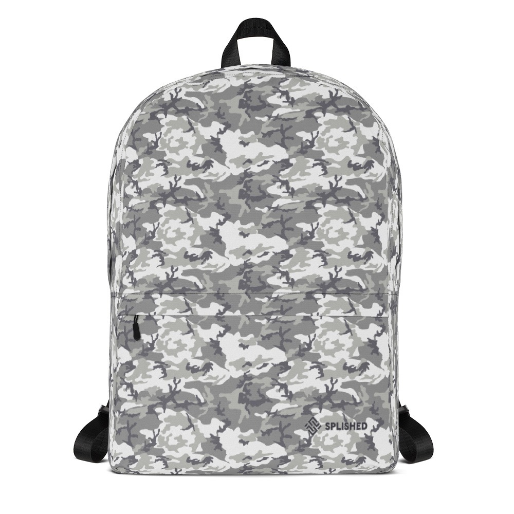 Splished Urban Camo Traveler Backpack